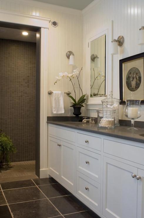 Floor and Decor Bathroom Vanities Fresh Beadboard Backsplash Transitional Bathroom Mccoppin Studios