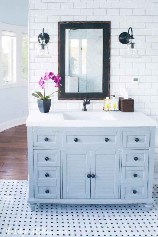 Floor and Decor Bathroom Vanities Fresh Master Bathroom Reveal Parent S Edition