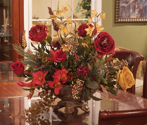 Flower Arrangements for Home Decor Elegant Floral Home Decor Silk Flowers Silk Flower Arrangements