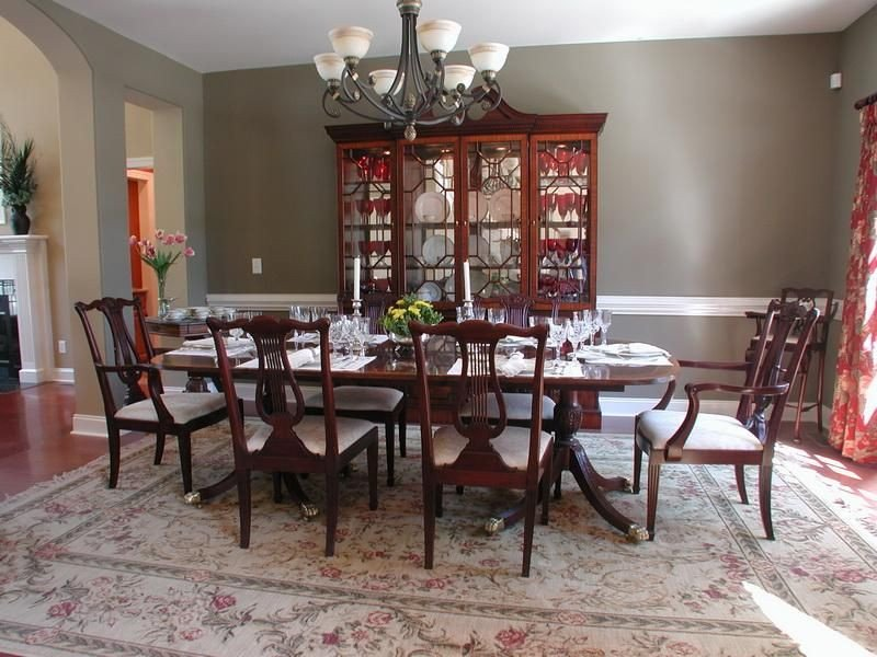 Formal Dining Room Decor Ideas Inspirational Pictures Of Dining Tables Decorated formal Dining Room Decorating Ideas