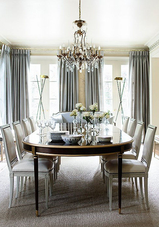 Formal Dining Room Table Decor Inspirational Inside Suzanne Kasler's Stunningly Serene atlanta Home In 2019 Dining Room Ideas