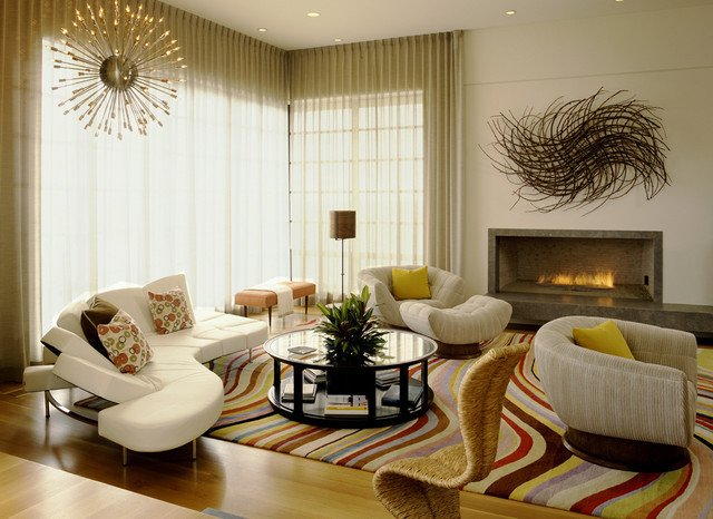 French Contemporary Living Room Best Of French Haven Contemporary Living Room orange County by tommy Chambers Interiors Inc