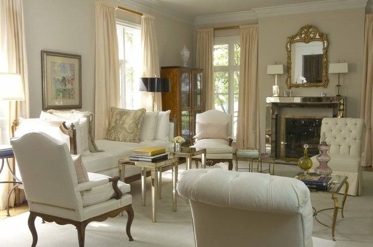 French Contemporary Living Room Inspirational Alex Richardson