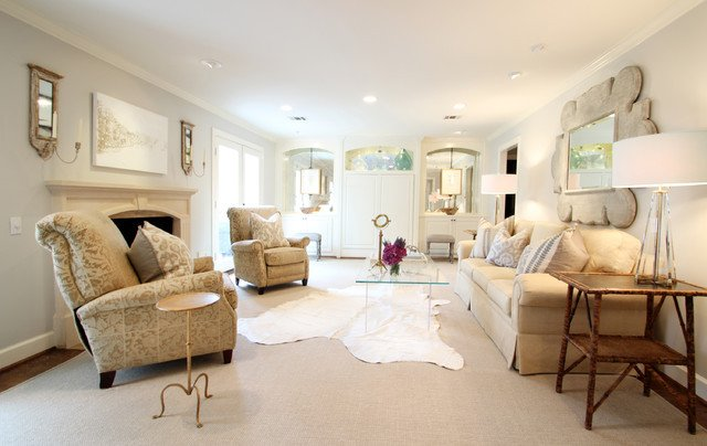 French Contemporary Living Room Lovely Memorial French Modern Traditional Living Room Houston by Marie Flanigan Interiors