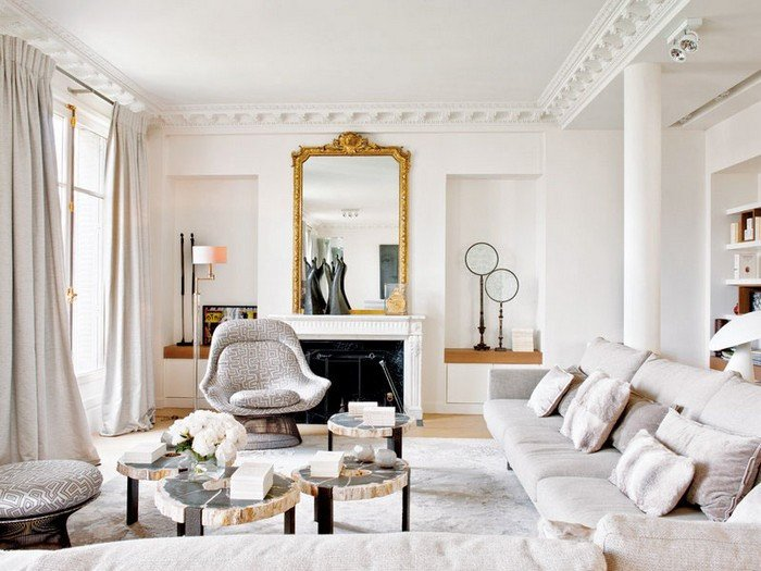 French Contemporary Living Room New Effortless Chic Interiors with Modern French Style