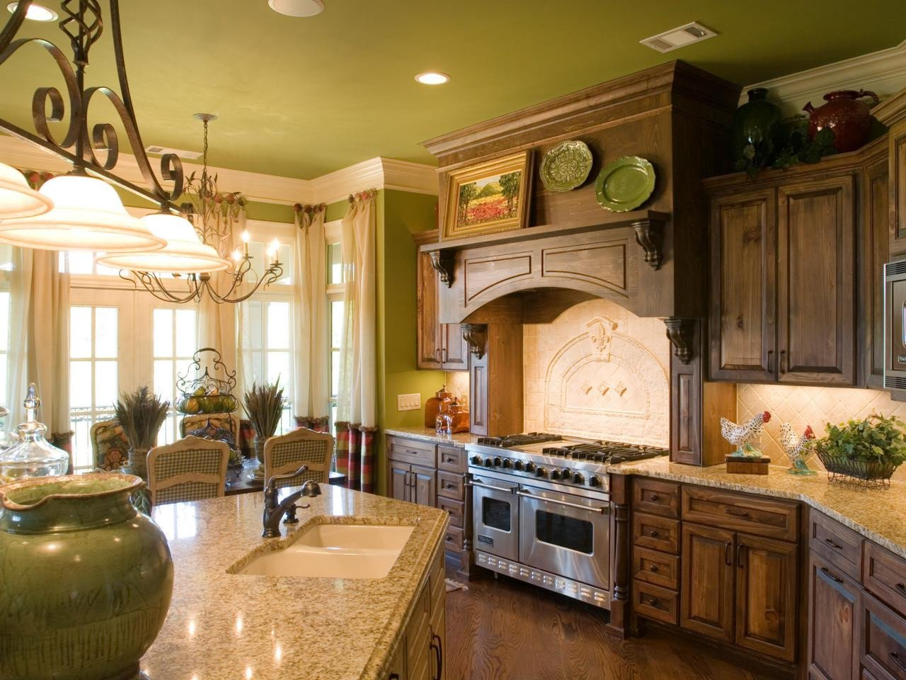 French Country Kitchen Wall Decor Beautiful French Country Kitchen Cabinets & Ideas From Hgtv