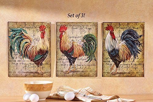 French Country Kitchen Wall Decor Elegant Farm Rooster Metal French Country Style Wall Art Hangings Kitchen Home Decor
