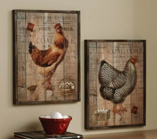 French Country Kitchen Wall Decorations