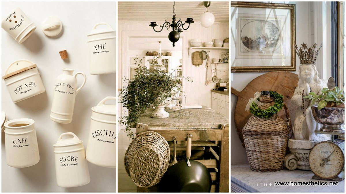 French Country Kitchen Wall Decor Unique top 30 Charming French Kitchen Decor Inspirational Ideas
