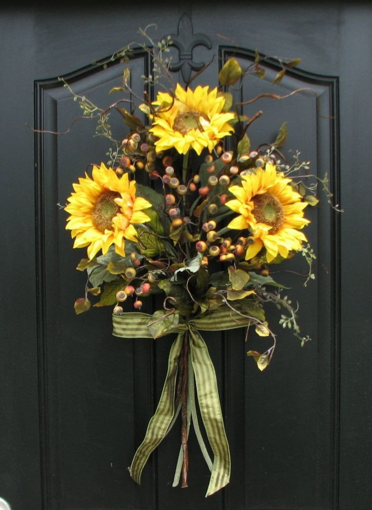 Front Door Decor for Summer Best Of Sunflower Decorations