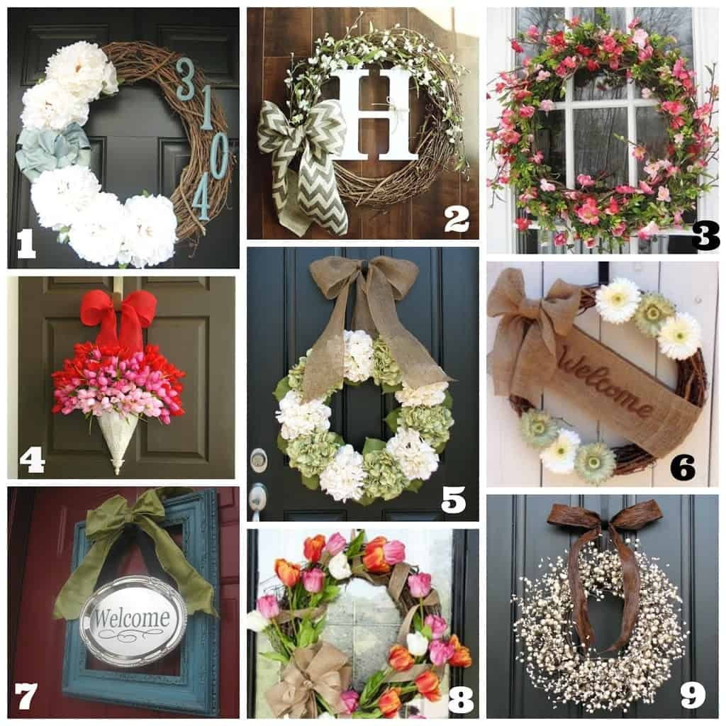 Front Door Decor for Summer Elegant Diy Front Door Wreaths Spring Summer Life A Little Brighter