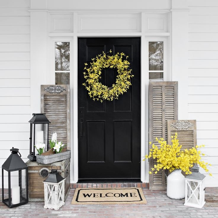 Front Door Decor for Summer Lovely Best 25 Summer Porch Decor Ideas On Pinterest