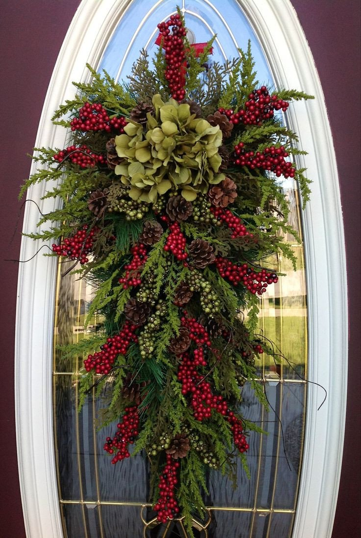 Front Door Decor for Winter Best Of 40 Christmas Wreaths Decoration Ideas the Xerxes