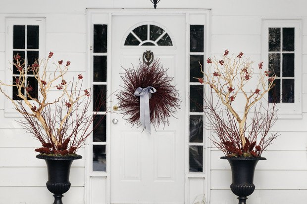 Front Door Decor for Winter Fresh Front Door Decorating for Fall & Winter