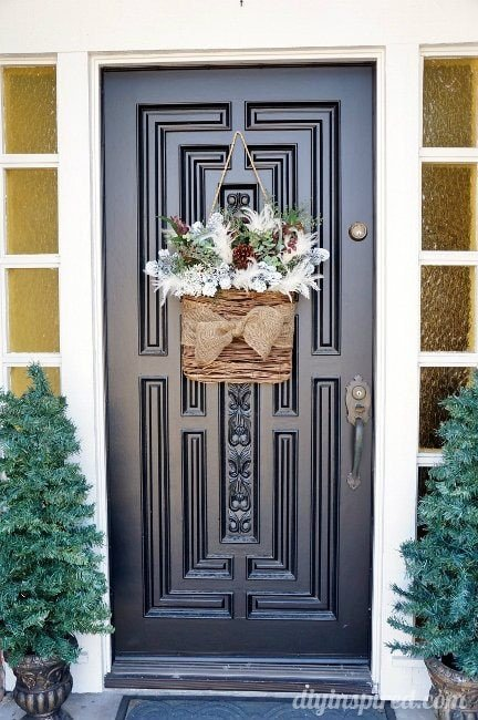 Front Door Decor for Winter Lovely Winter Wreath for after Christmas Diy Inspired