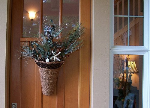 Front Door Decor for Winter Luxury Fall to Winter Front Door Decor the Inspired Room