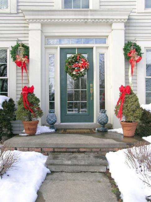 Front Door Decor for Winter New 25 Beautiful Christmas Wreaths and Garlands Winter Door Decoration Ideas