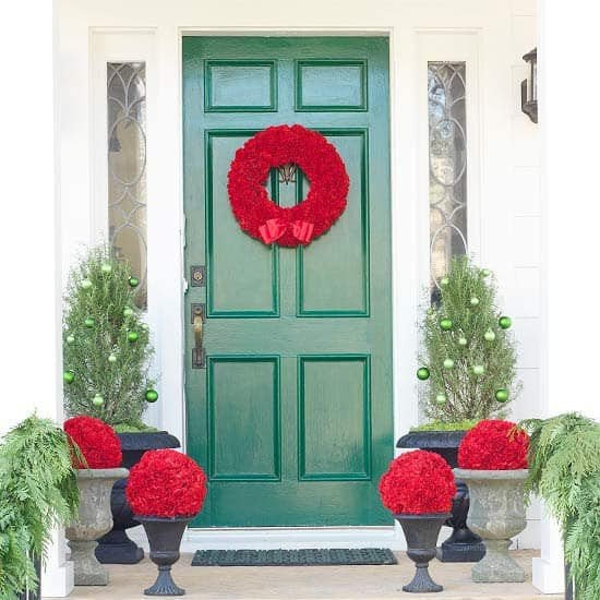 Front Door Decor for Winter New 50 Fabulous Outdoor Christmas Decorations for A Winter Wonderland