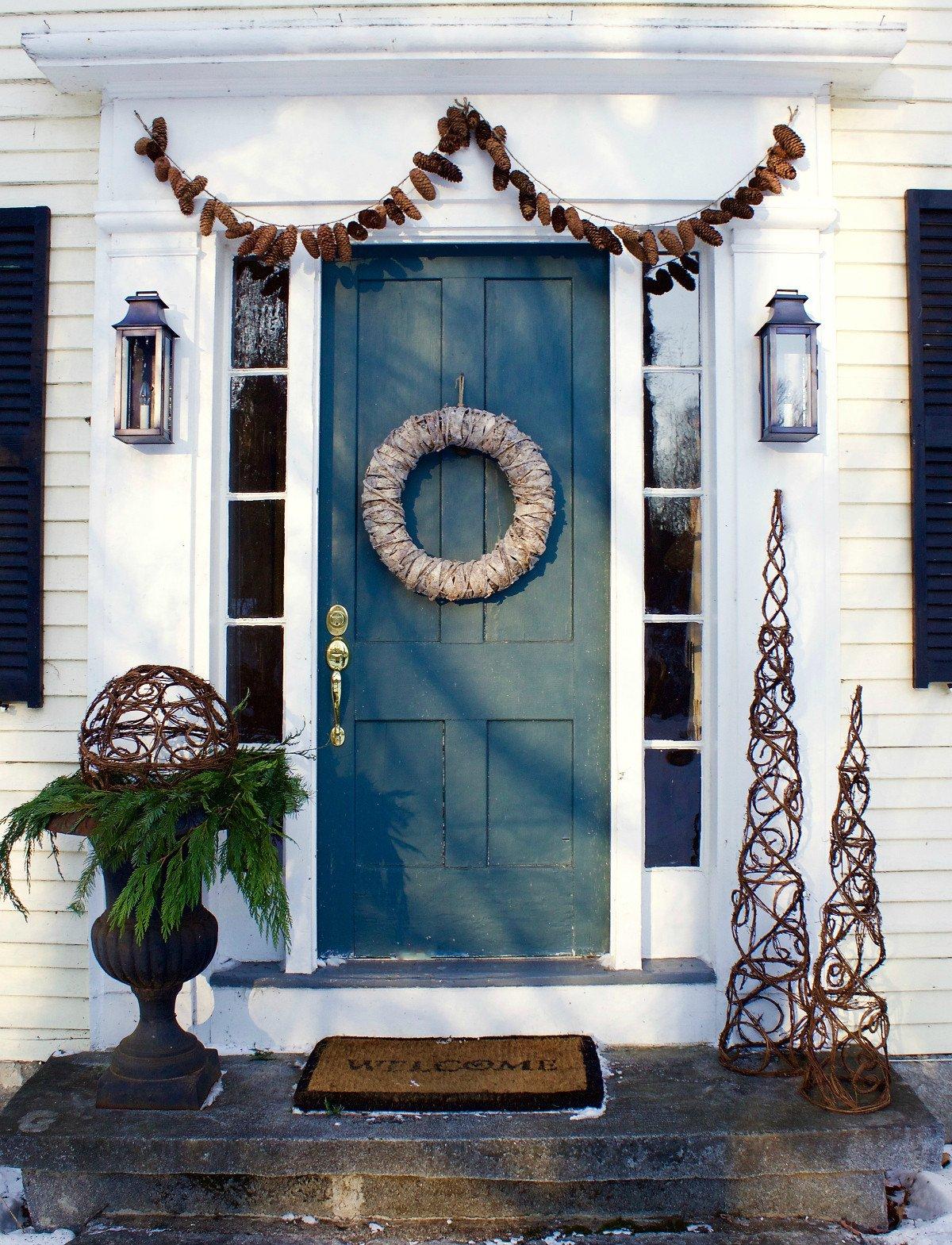 Front Door Decor for Winter Unique Post Christmas Winter Front Door Decor and A Plea Home Glow Design