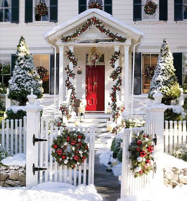 Front Porch Decor for Christmas Awesome 40 Cool Diy Decorating Ideas for Christmas Front Porch