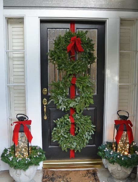 Front Porch Decor for Christmas Beautiful Beautiful Outdoor Christmas Porch Decoration Ideas Godfather Style