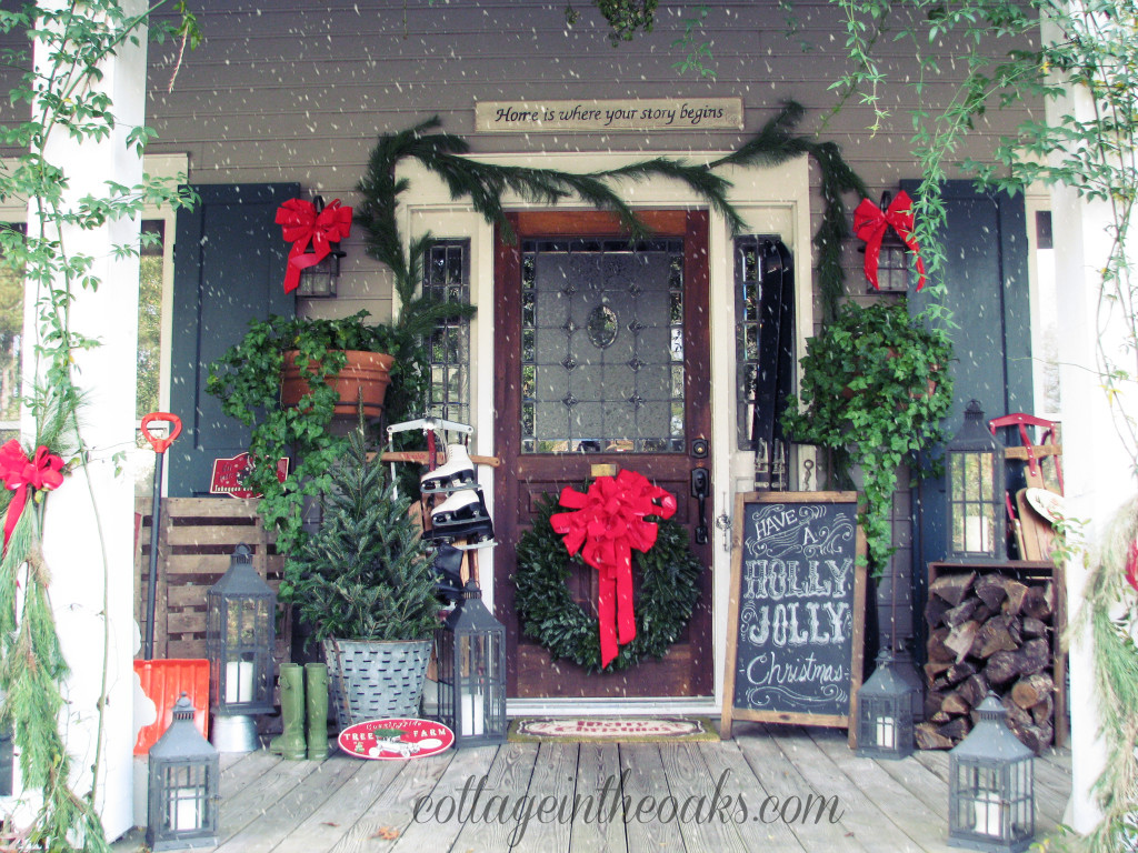 Front Porch Decor for Christmas Best Of 13 Stunning Christmas Porch Decor Ideas Honeybear Lane