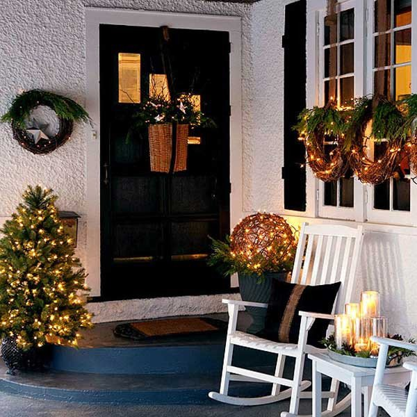 Front Porch Decor for Christmas Inspirational Cool Decorating Ideas for Christmas Front Porch the Xerxes