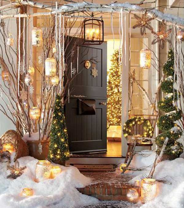 Front Porch Decor for Christmas Lovely 40 Cool Diy Decorating Ideas for Christmas Front Porch