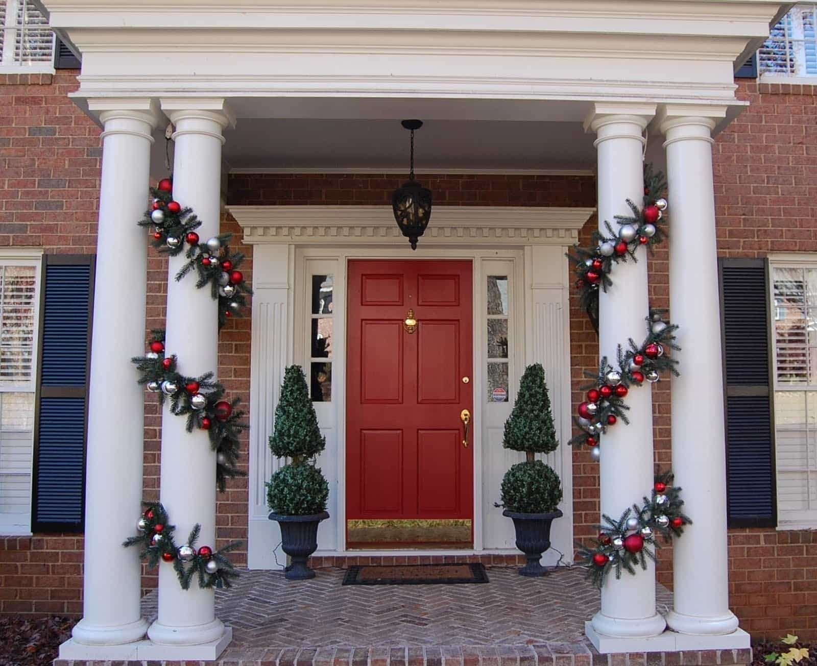 Front Porch Decor for Christmas Luxury Christmas Decorating Ideas for Your Porch