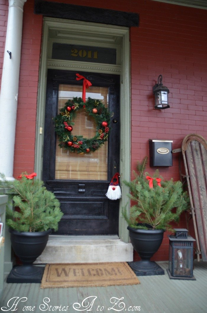 Front Porch Decor for Christmas Luxury Christmas Front Porch