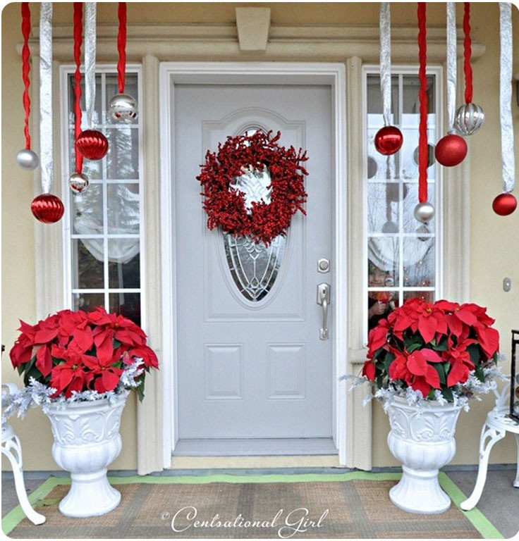 Front Porch Decor for Christmas Luxury top 10 Inspirational Christmas Front Porch Decorations top Inspired