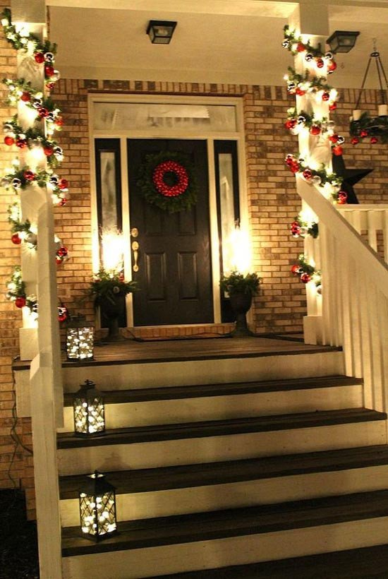 Front Porch Decor for Christmas New 35 Cool Christmas Porch Decorating Ideas All About Christmas