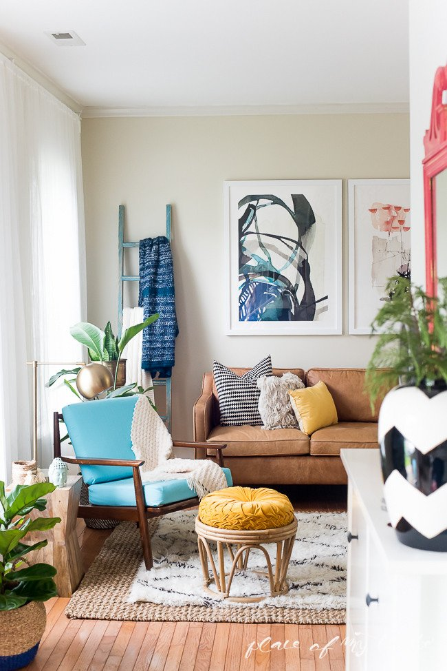 Fun Living Room Decorating Ideas Awesome Fun and Bright Boho Living Room Decor