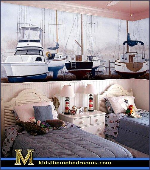 Fun Nautical Bedroom Decor Ideas Awesome Decorating theme Bedrooms Maries Manor Nautical Bedroom Ideas Decorating Nautical Style