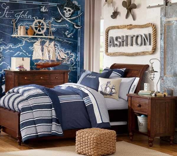 Fun Nautical Bedroom Decor Ideas Awesome Nautical Decorating Ideas for Kids Rooms From Pottery Barn Kids
