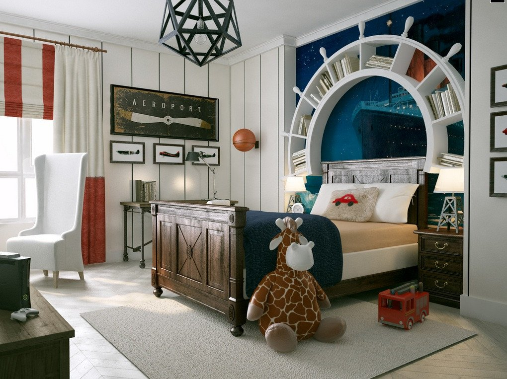Fun Nautical Bedroom Decor Ideas Best Of Whimsical Kids Rooms
