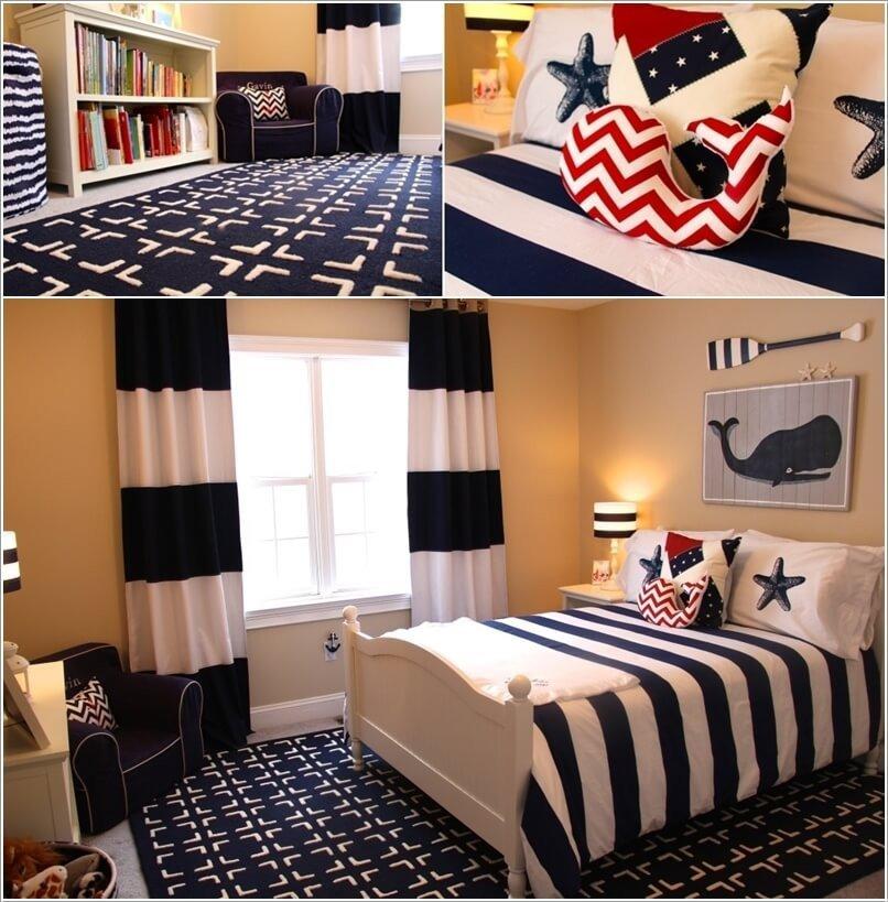 Fun Nautical Bedroom Decor Ideas Elegant 10 Cool Nautical Kids Bedroom Decorating Ideas