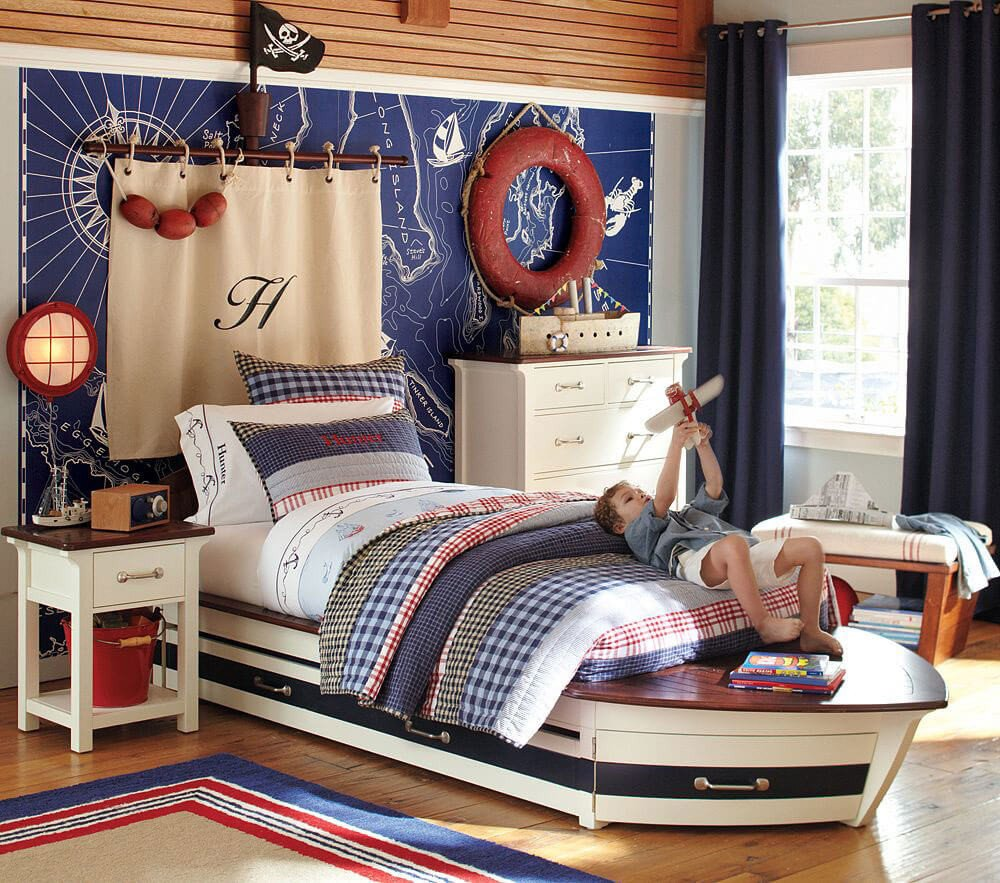 Fun Nautical Bedroom Decor Ideas Fresh 8 Fun Pirate themed Bedroom Designs for Kids