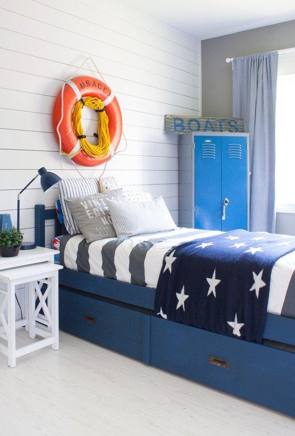 Fun Nautical Bedroom Decor Ideas Luxury Nautical Boy Room the Lilypad Cottage