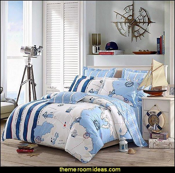 Fun Nautical Bedroom Decor Ideas New Decorating theme Bedrooms Maries Manor Nautical Bedroom Ideas Decorating Nautical Style