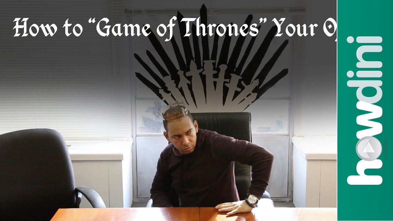 "Game Of Thrones Office Decor Inspirational How to ""game Of Thrones"" Your Office"