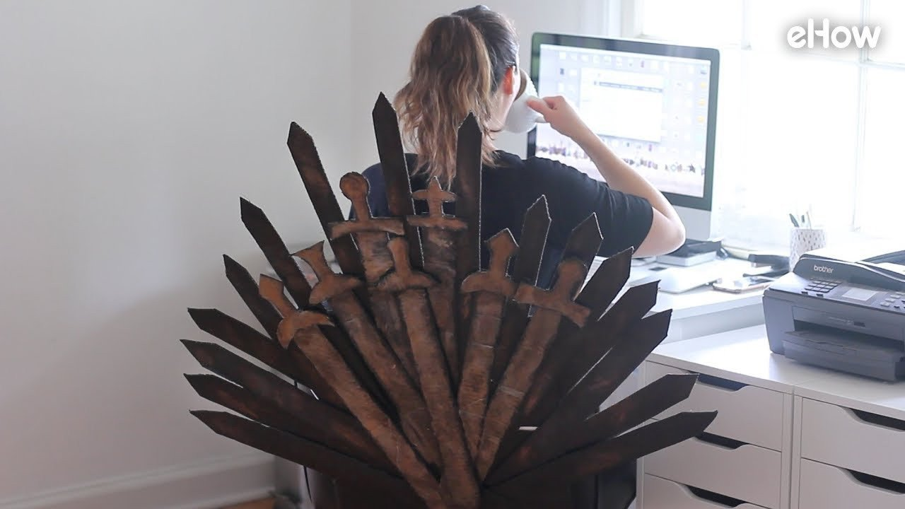 Game Of Thrones Office Decor Luxury Diy Game Of Thrones Iron Throne Fice Chair