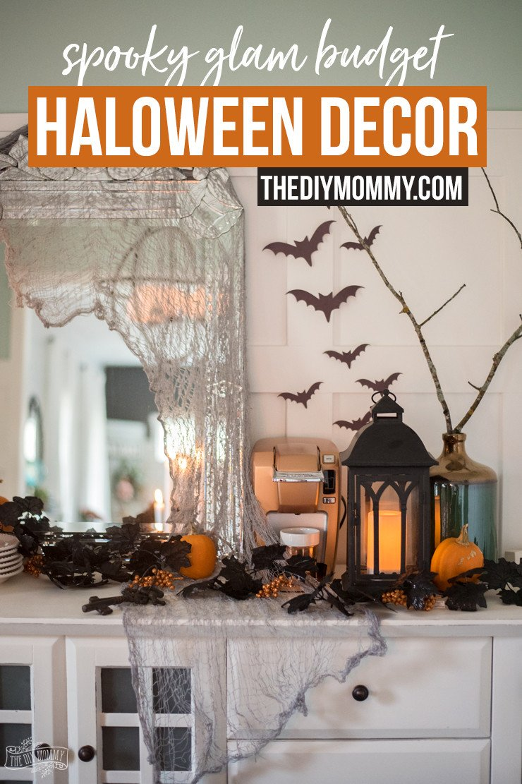 Glam Decor On A Budget Awesome Spooky Glam Halloween Decor Ideas On A Bud