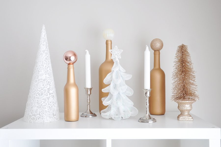 Glam Decor On A Budget Beautiful Glam Holiday Decor Ideas On A Bud