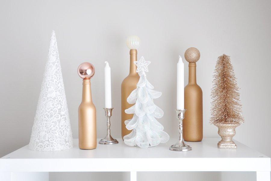 Glam Decor On A Budget Beautiful Glam Holiday Decor Ideas On A Bud