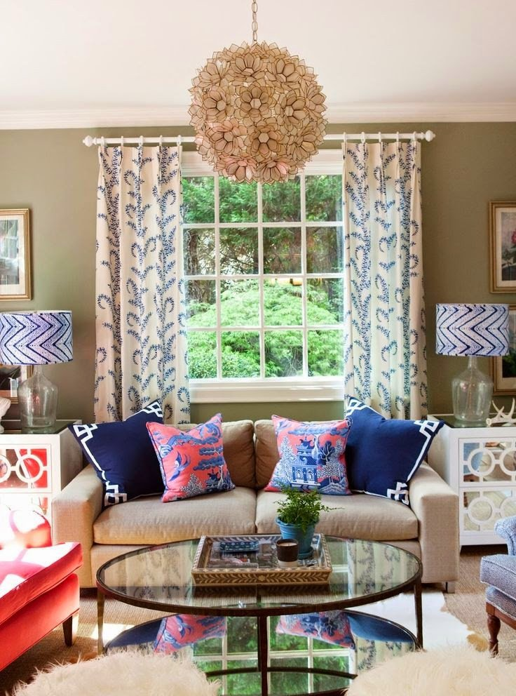 Glass Coffee Table Decor Ideas Lovely Eye for Design Decorating Palm Beach Preppy Style