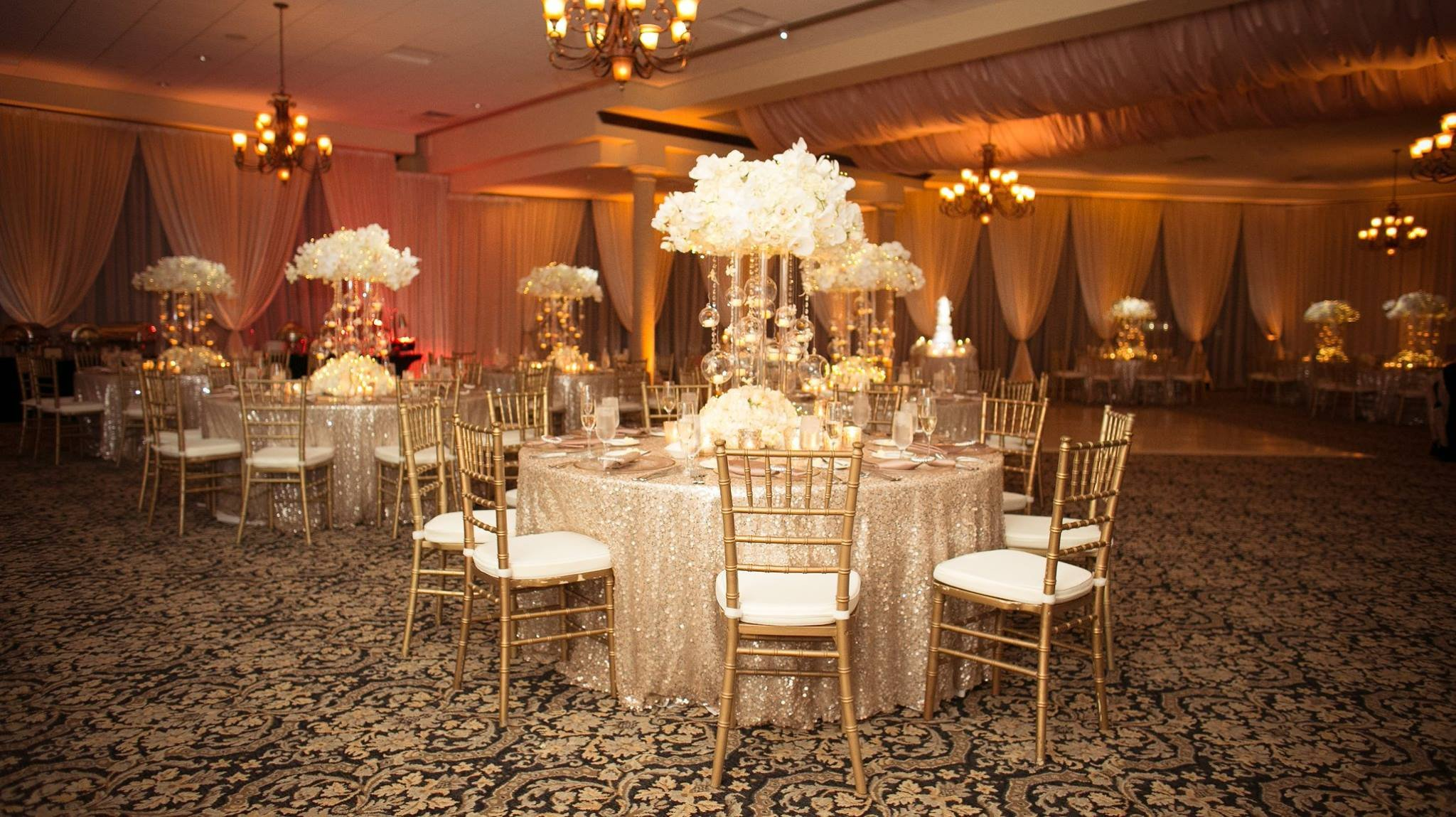 Gold and Ivory Wedding Decor Inspirational Ivory and Gold Bella Collina Wedding A Chair Affair Inc