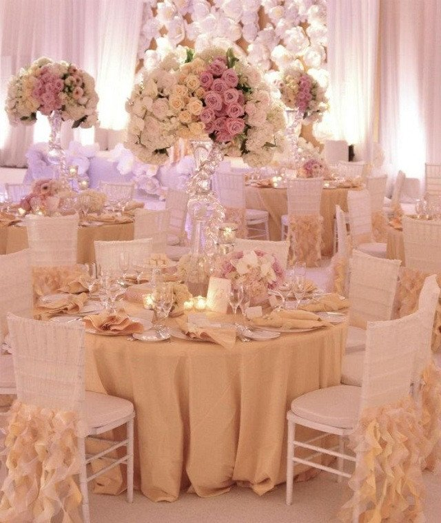 Gold and Ivory Wedding Decor Lovely Movie Monday Marie Antoinette Wedding Blog