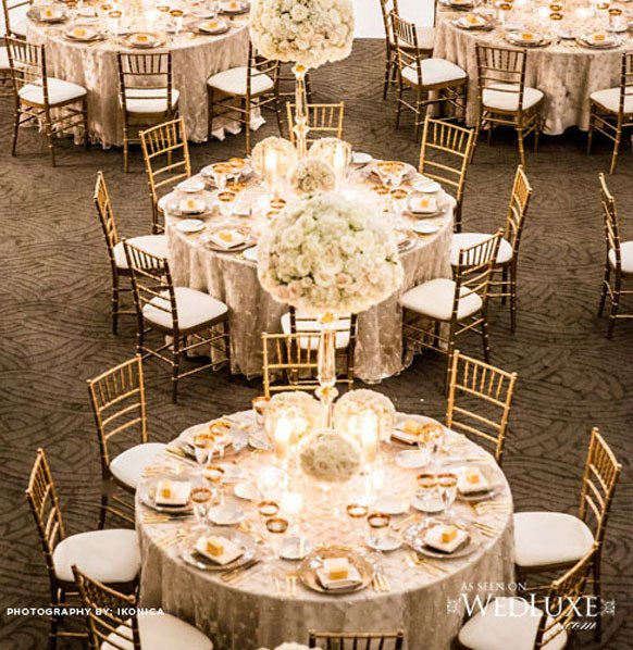 Gold and Ivory Wedding Decor Luxury 2014 Ivory Champagne An Gold Wedding Reception Decorations Archives Weddings Romantique