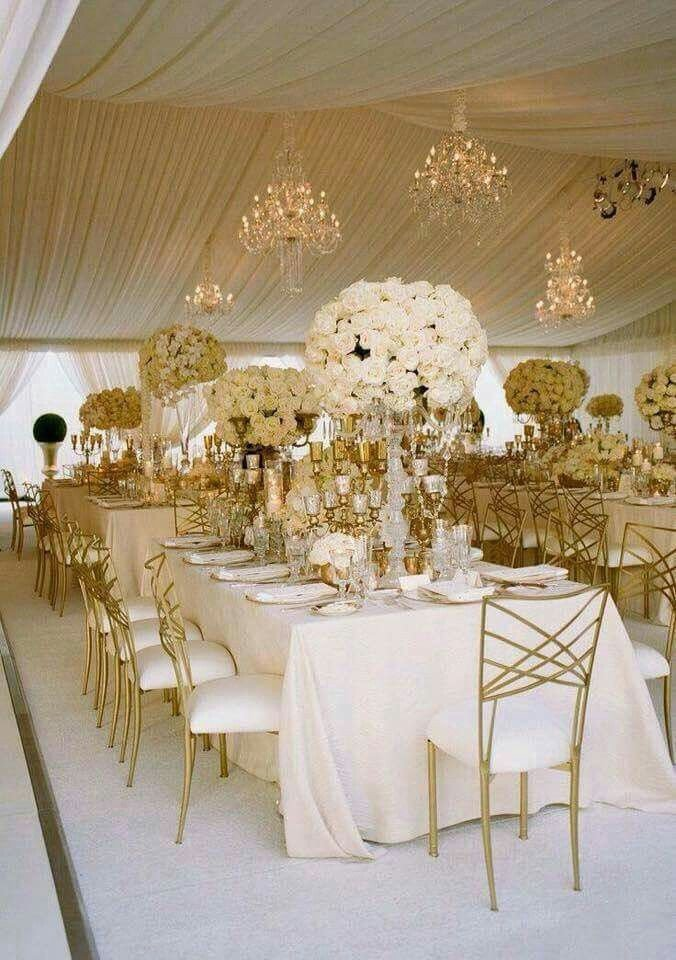 Gold and Ivory Wedding Decor New Ivory & Gold Autiful Beautiful event Decor In 2019